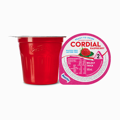 Ready-To-Drink Raspberry Flavoured Cordial Level 2 Mildly Thick - Pack of 12