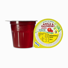 Ready-To-Drink Apple & Raspberry Juice Level 3 Moderately Thick - Pack of 12